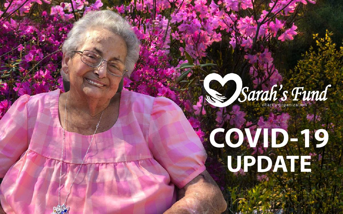 Sarah's Fund COVID-19 Update